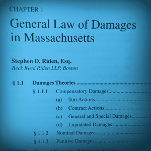 General Law of Damages in Massachusetts